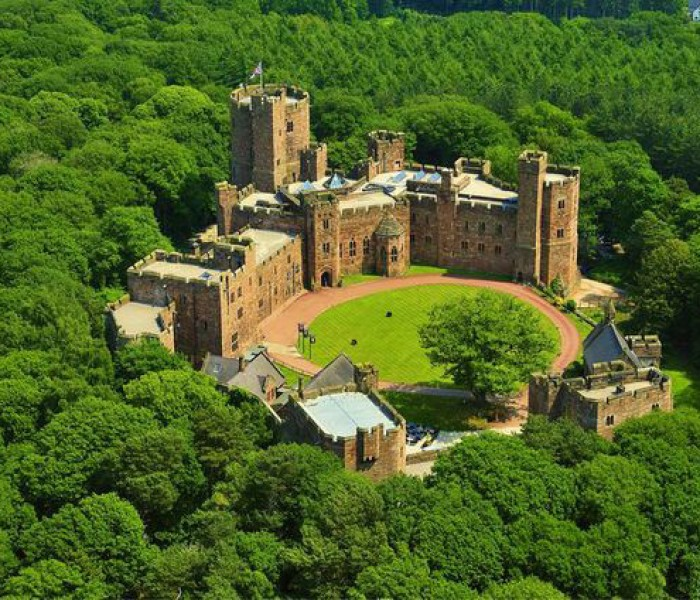 A Romantic Stay At Peckforton Castle