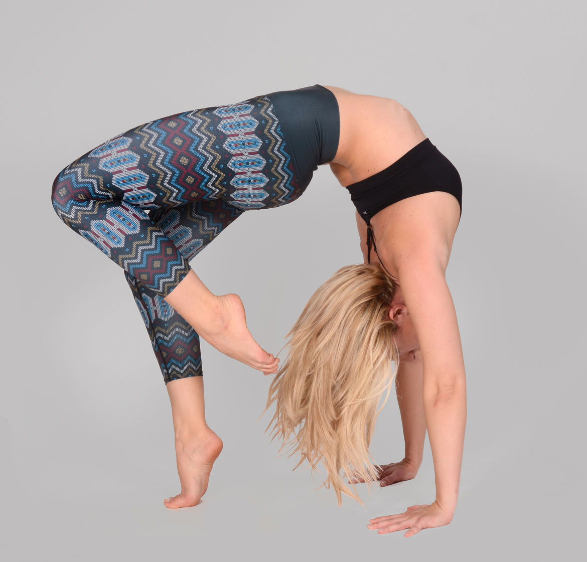 Yoga Leggings Made From Recycled Water Bottles