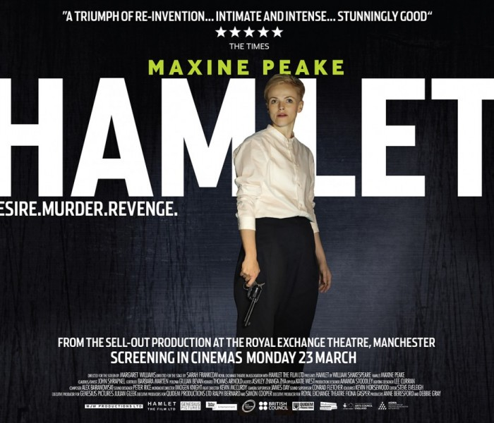 Maxine Peake as Hamlet To Be Screened At The Cornerhouse