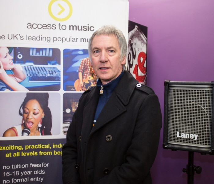 Clint Boon Becomes Patron For New Access To Music Centre