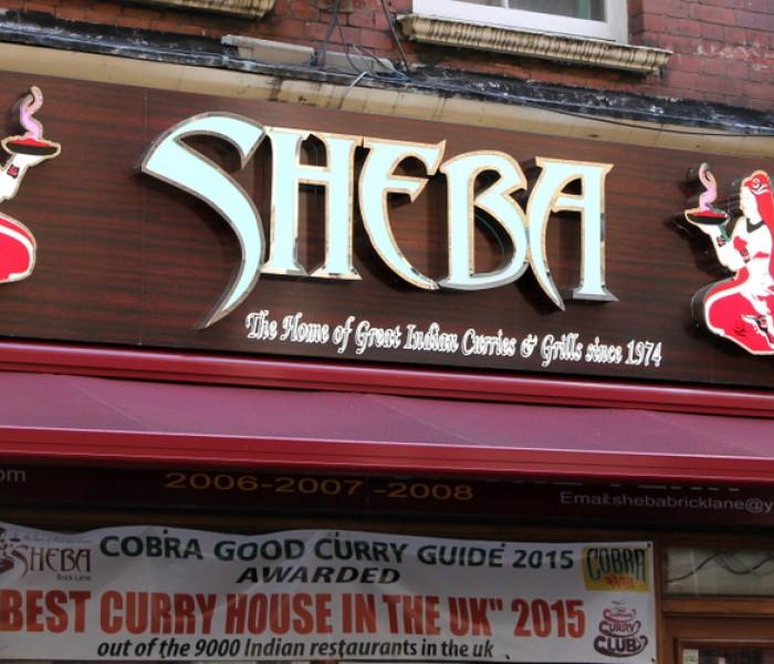 Review: Sheba Brick Lane