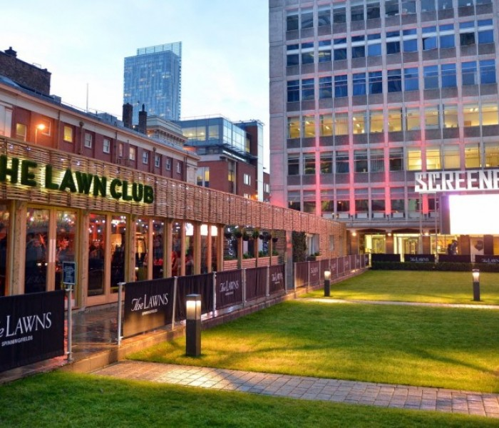 A New Look Lawn Club to Land at Spinningfields