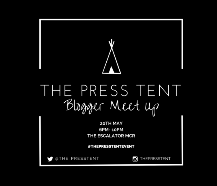 The Press Tent Blogger Meet Up comes to Manchester