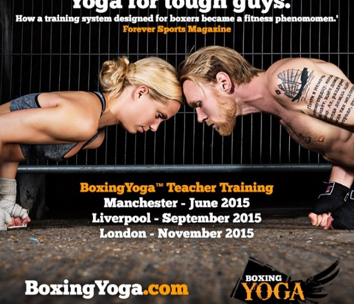 Yoga For Tough Guys: BoxingYoga Is Coming To Manchester