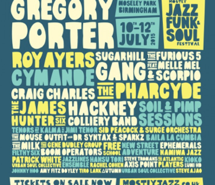 Mostly Jazz Funk & Soul Festival 2015: Full Line Up Announced