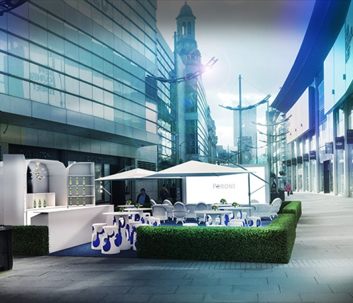 The House Of Peroni Brings Cinema As Fresco To Harvey Nichols Manchester This Summer