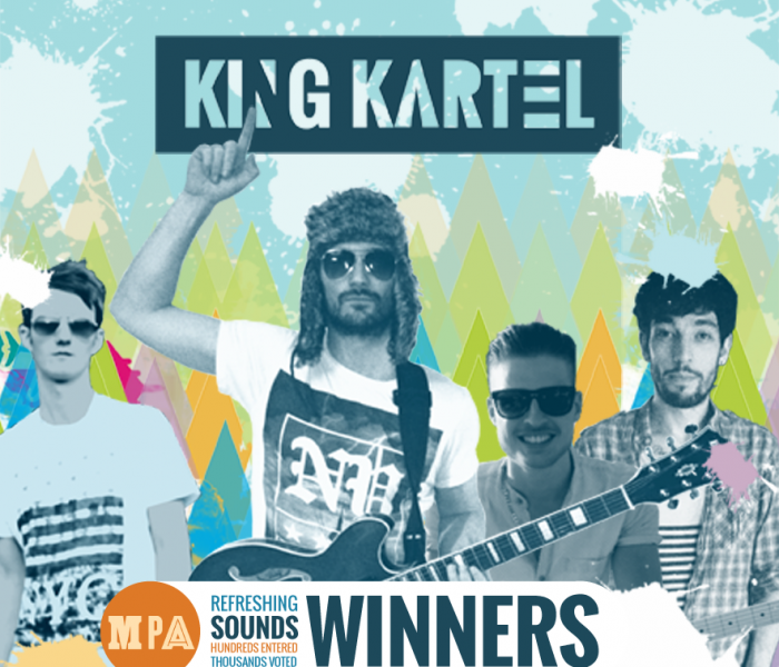 King Kartel Kicks Off A Career By Winning Refreshing Sounds Competition