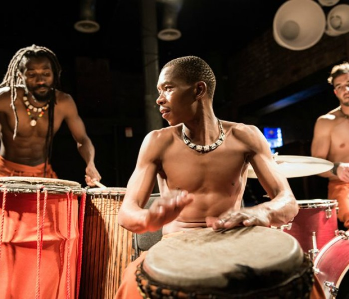 VIVA Turns The Beat Up With Drum Tribe at Joshua Brooks
