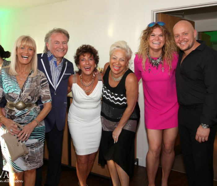 Denise Welch, Jorgie Porter And Goldie Cheung Dazzle At DoubleTree by Hilton Summer Garden Party