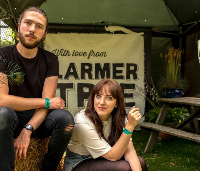 VIVA catch up with BBC Introducing's Meadowlark at Larmer Tree Festival