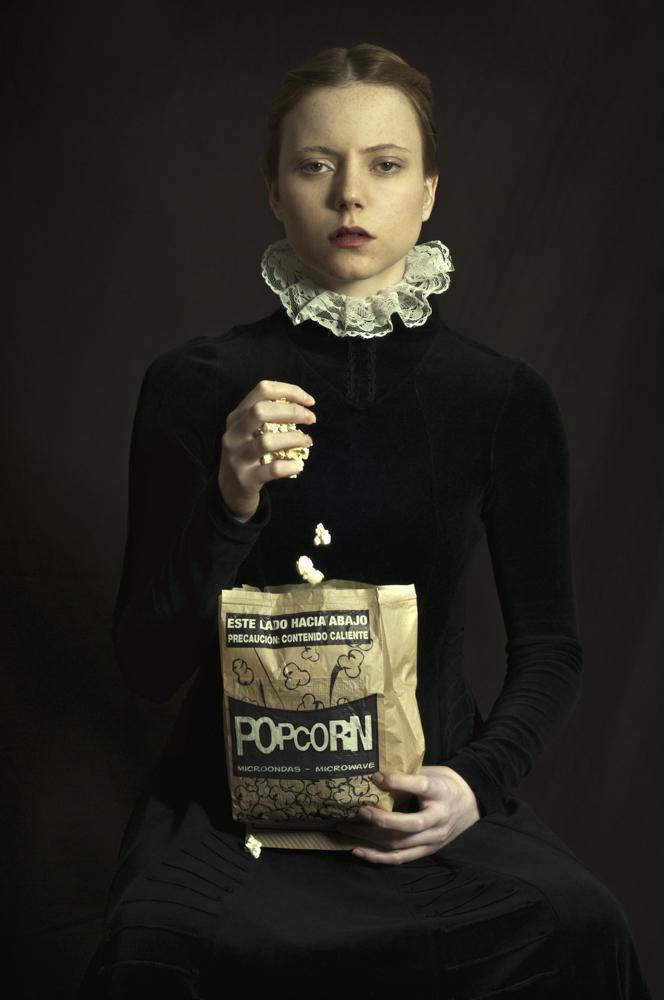 Romina Ressia, Popcorn, limited edition photography, 60x90cm