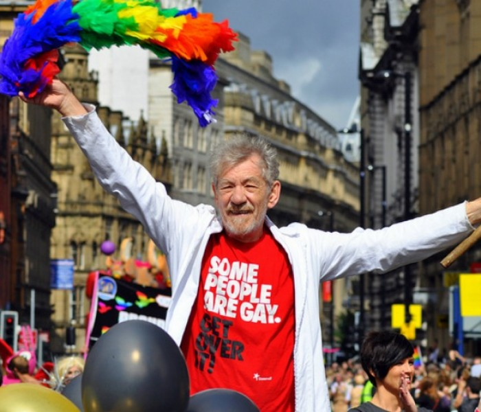 X-Men star Sir Ian Mckellen To Lead Manchester Pride Parade