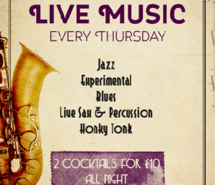 Live Music Every Thursday And Live DJs On Weekends At The Fitzgerald
