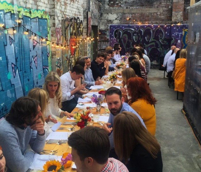 Secret Diners Club Goes Al Fresco