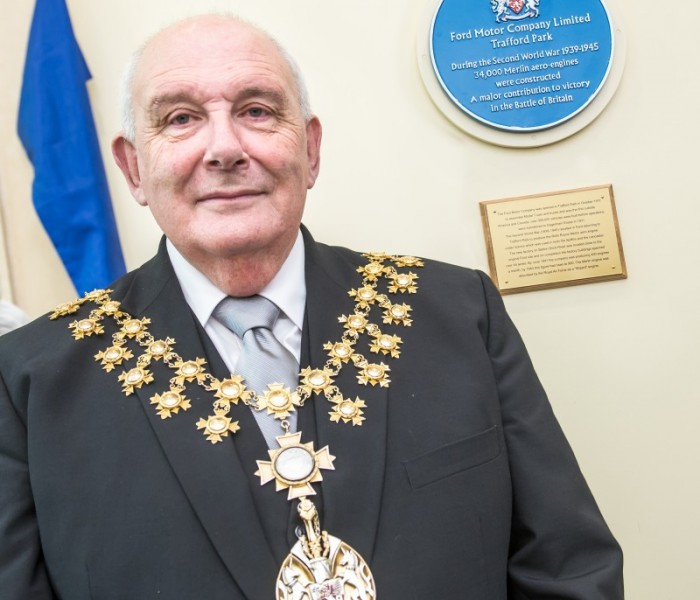Mayor Of Trafford Unveils Blue Plaque