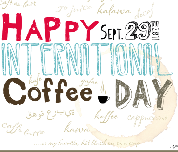 Grab Your Caffeine Fix Because It's International Coffee Day