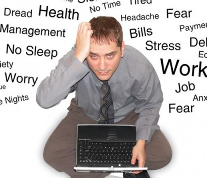 The harm of stress to health