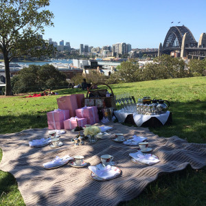 Picnic on Observatory hill