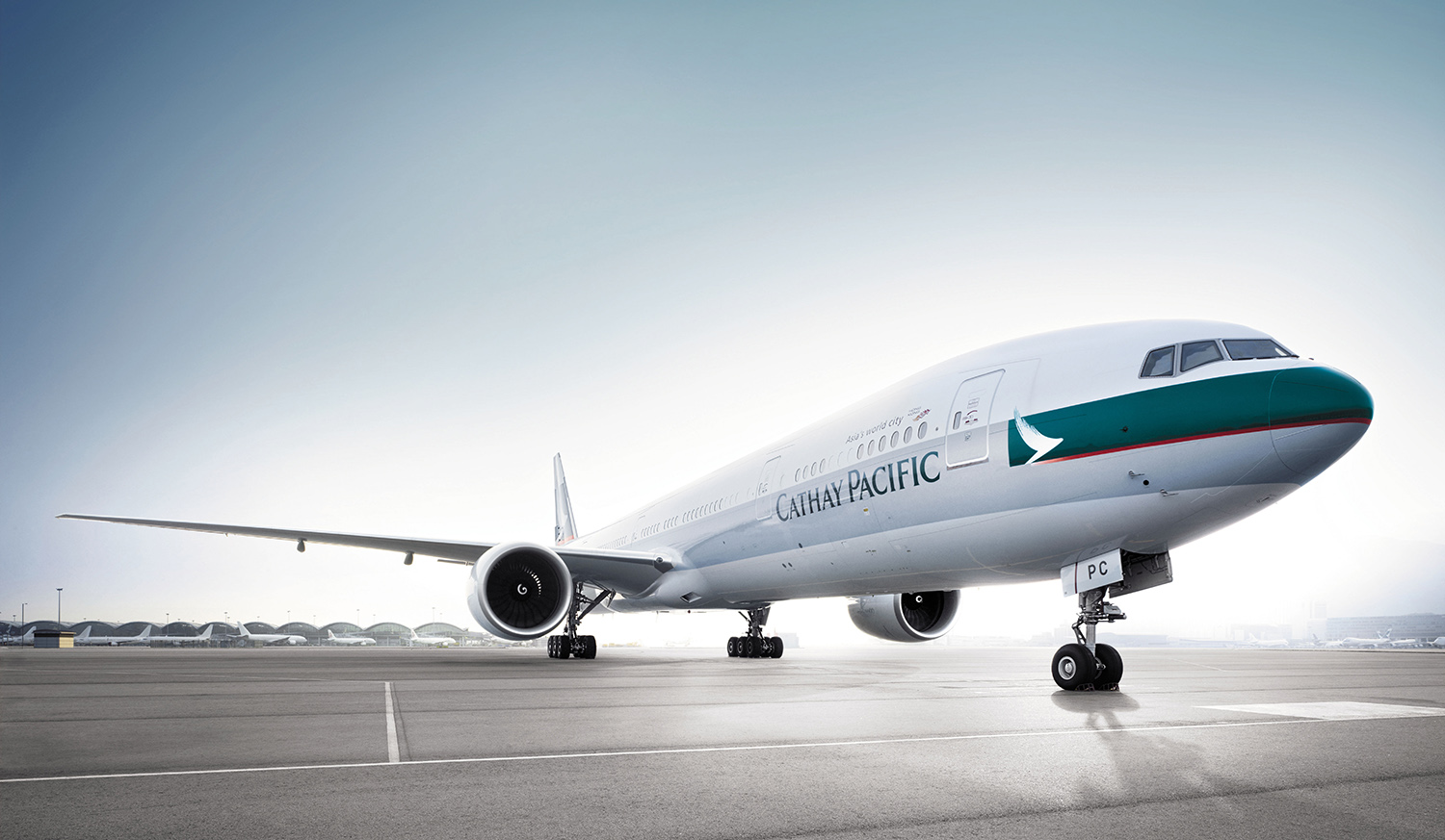 Cathay Pacific 777 300 ER