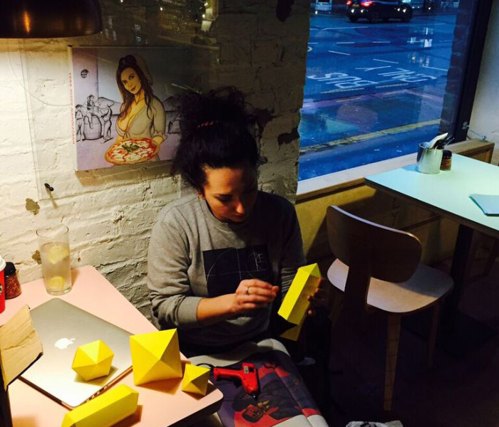 Ply's Doodle Wall Gets Festive With Manchester's Studio Printmysoul