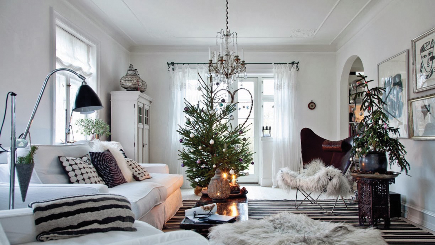 Creative christmas decor viva lifestyle magazine Christmas decorations interior design