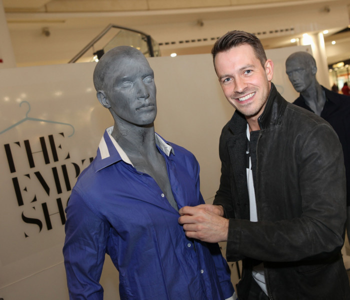Hollyoaks' Ashley Taylor Dawson And Manchester Arndale Retailers Ensure Record Breaking Launch For Homeless Charity Fashion Event