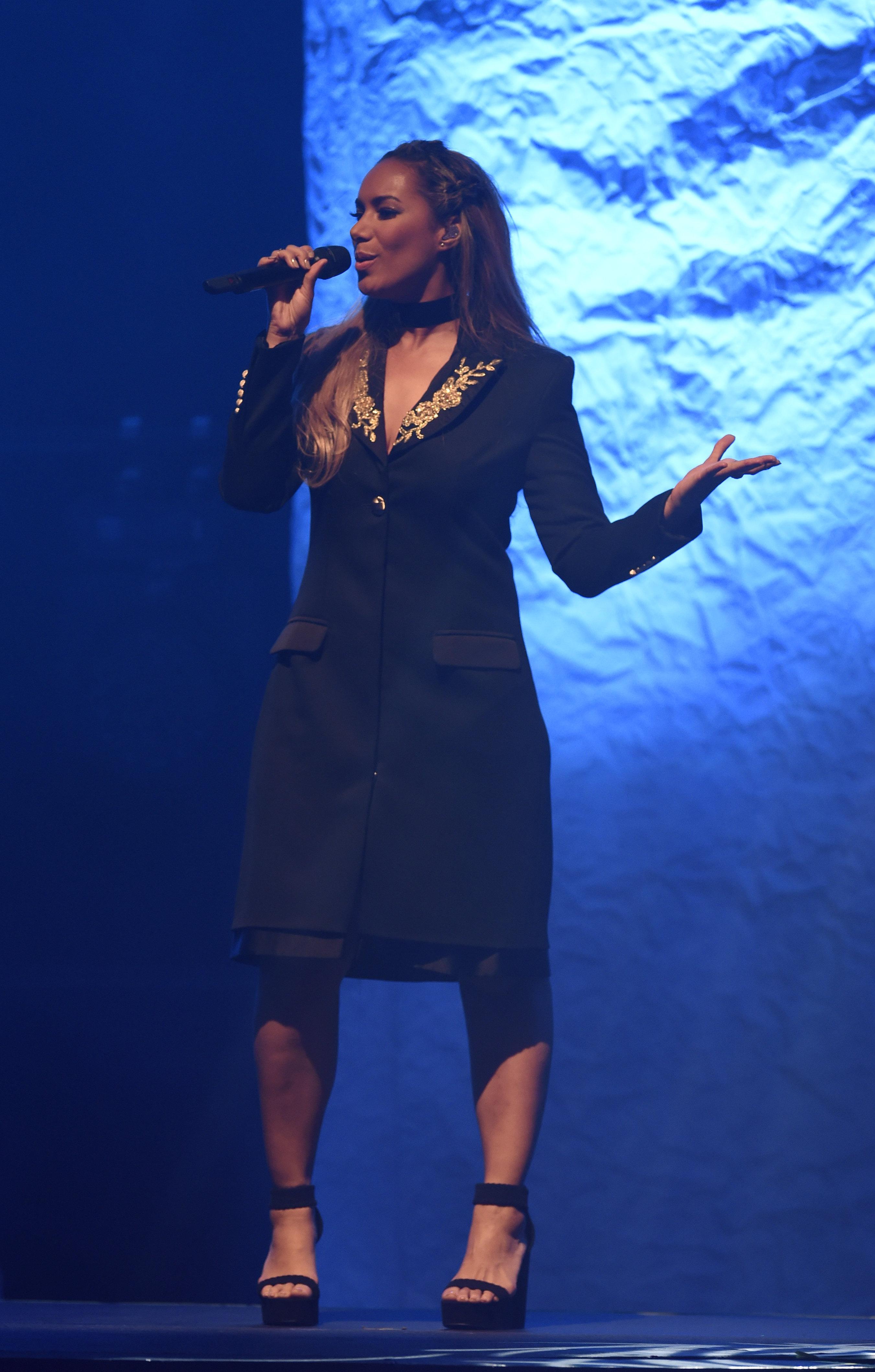 Leona Lewis Blows Manchester Away Viva Lifestyle Magazine