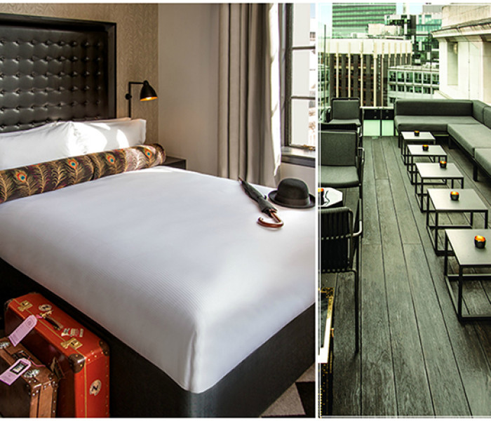 Holy Bat-Hotel. The VIVA Girls Get A Sneak Peak Inside Hotel Gotham's VIP Club