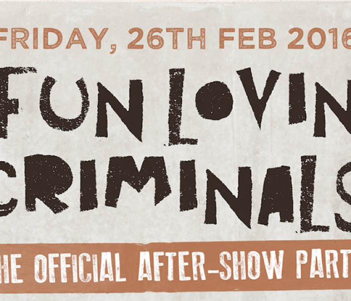 The Official Fun Lovin' Criminals After Party