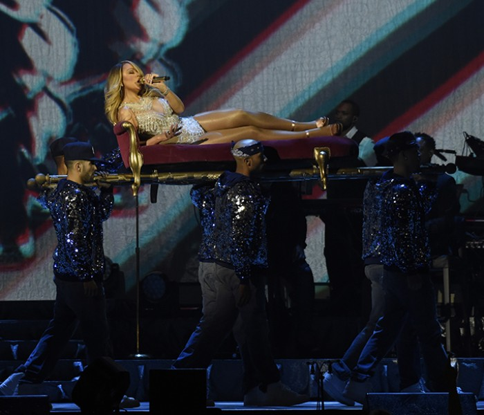 A Fantasy Come True;  Mariah Wows The Crowd On The Manchester Leg Of Her Sweet Sweet Fantasy Tour