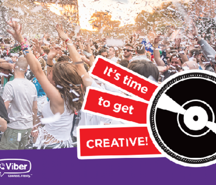 Design a Viber Sticker For EXIT Festival