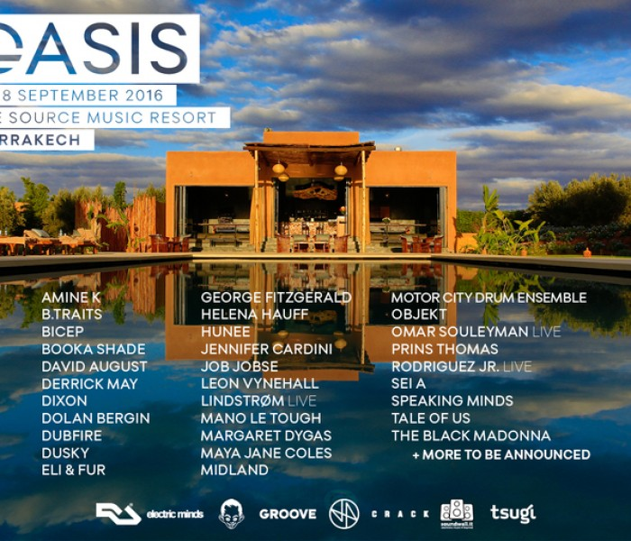 Oasis Announces Second Wave of Acts
