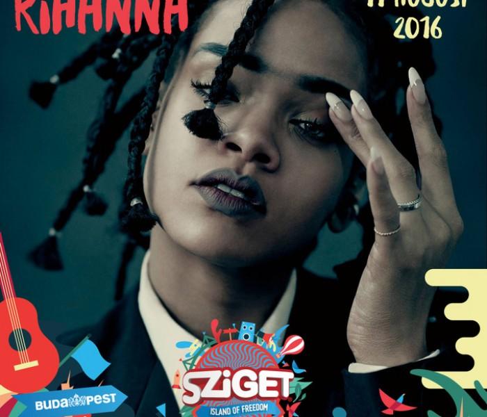 Rihanna to Headline Sziget Festival