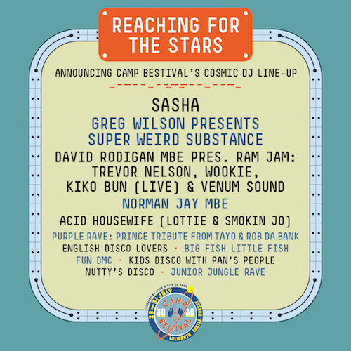 Camp Bestival Family Festival Fun 2014: Reaching For The Stars Announcing Camp Bestival's Cosmic