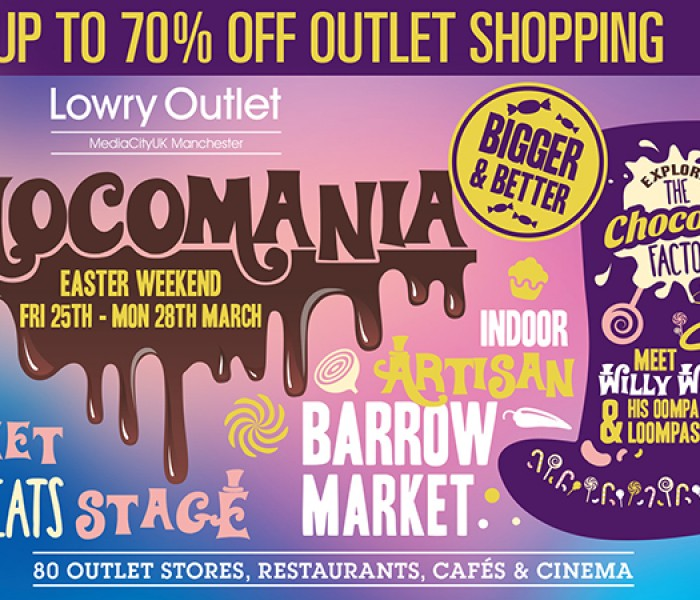 Lowry Outlet To Host Free Chocomania Experience Over Easter