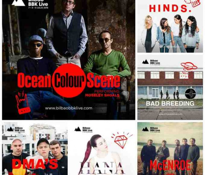 Ocean Colour Scene Join The Lineup at Bilbao BBK Live