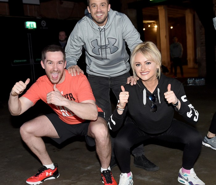Soap Stars Join Olympic Athletes For Brutal Fitness Session