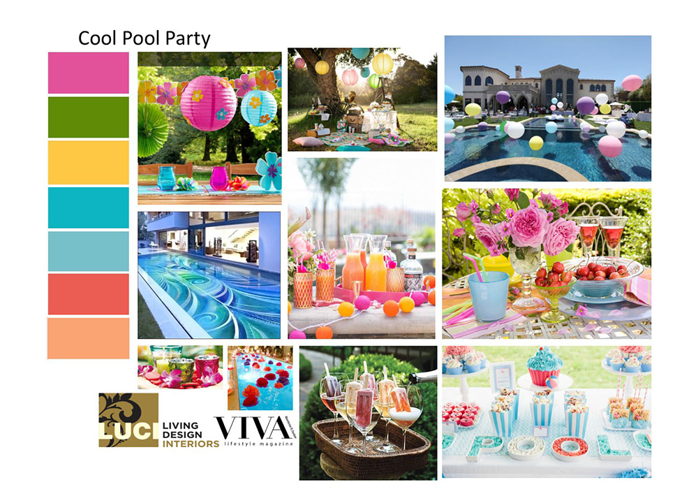 Garden Design Mood Board cool pool party (summer garden designs) | viva lifestyle magazine