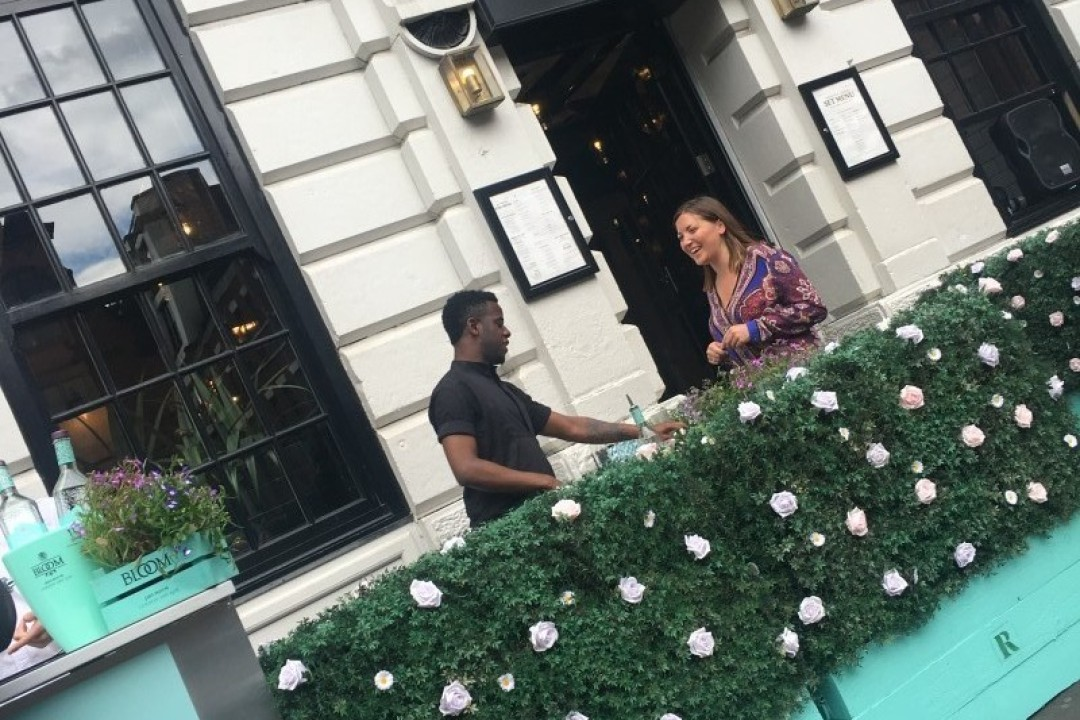 Manchester's First Bloom Gin Terrace Officially Opens For The Summer At Rosylee