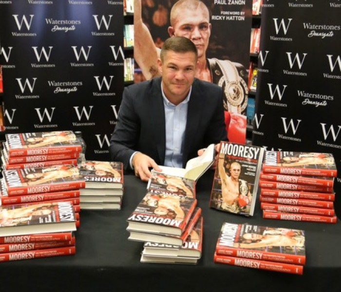 Jamie Moore's Book Signing A Hit