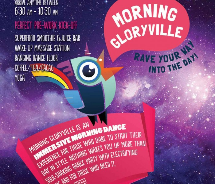 Rave Your Way Into The Day With Morning Gloryville