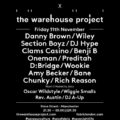The Warehouse Project Support Fabric,  Announcing FABRICLIVE x WHP Event