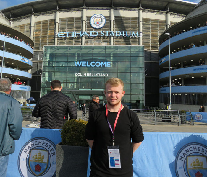Top Job From Manchester City
