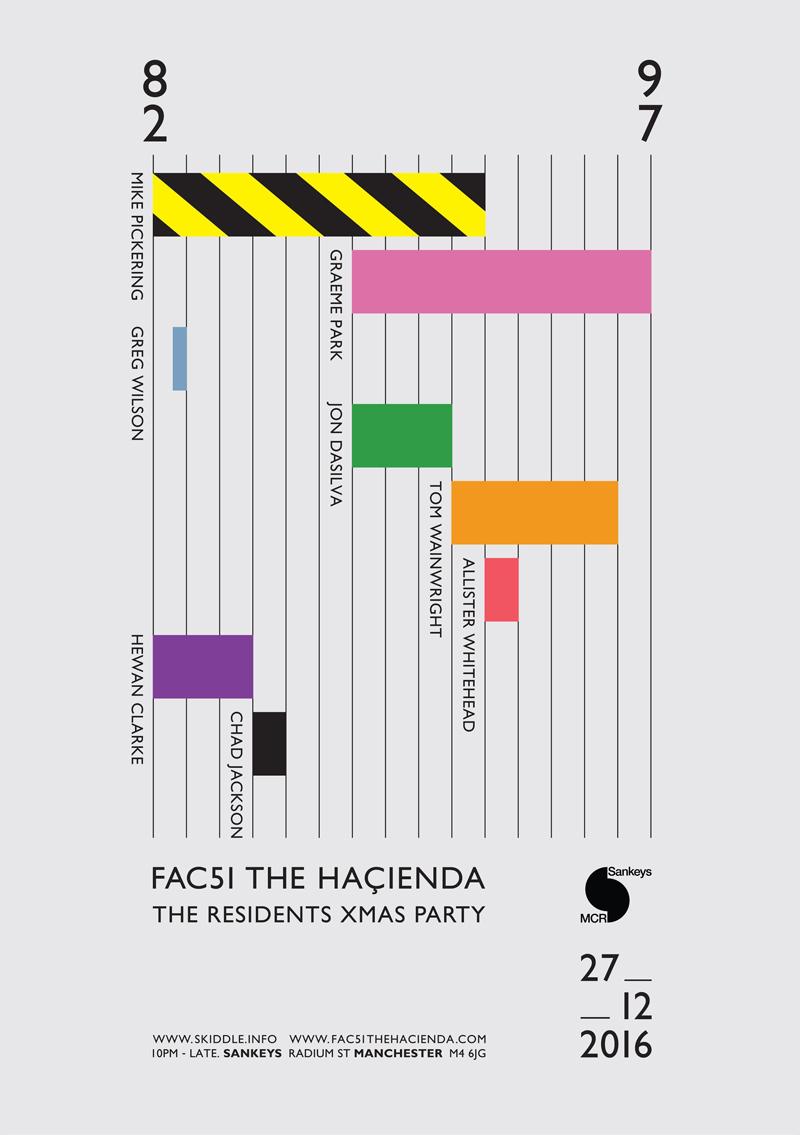 Hacienda Xmas Poster