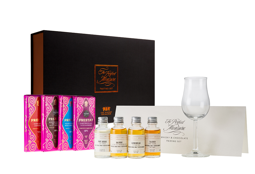 Whisky and Chocolate pairing set