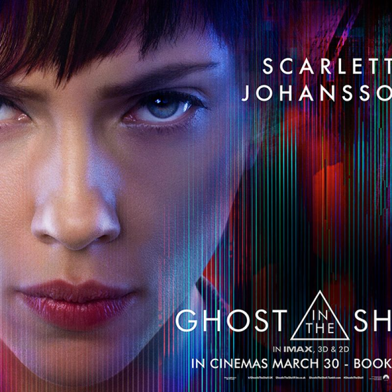 Win with GHOST IN THE SHELL, in cinemas March 30! Enter to win 2 tickets to an exclusive preview screening!