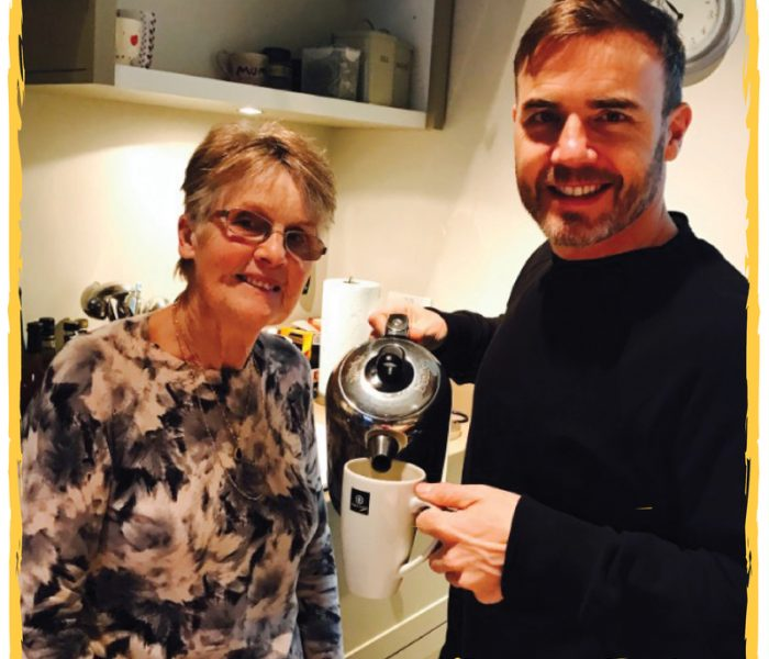 Gary Barlow's Mum Joins Mother's Day Campaign #MakeForMum