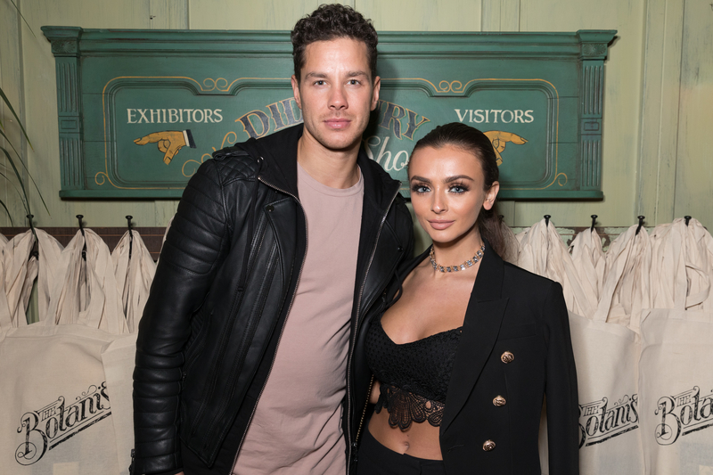 Scott Thomas and Kady McDermott at The Botanist launch party in Didsbury. Photo by Carl Sukonik