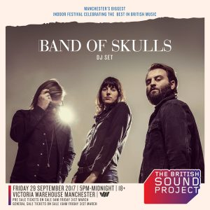 Band of Skulls at British Sound Project