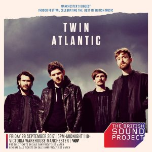 Twin Atlantic at British Sound Project